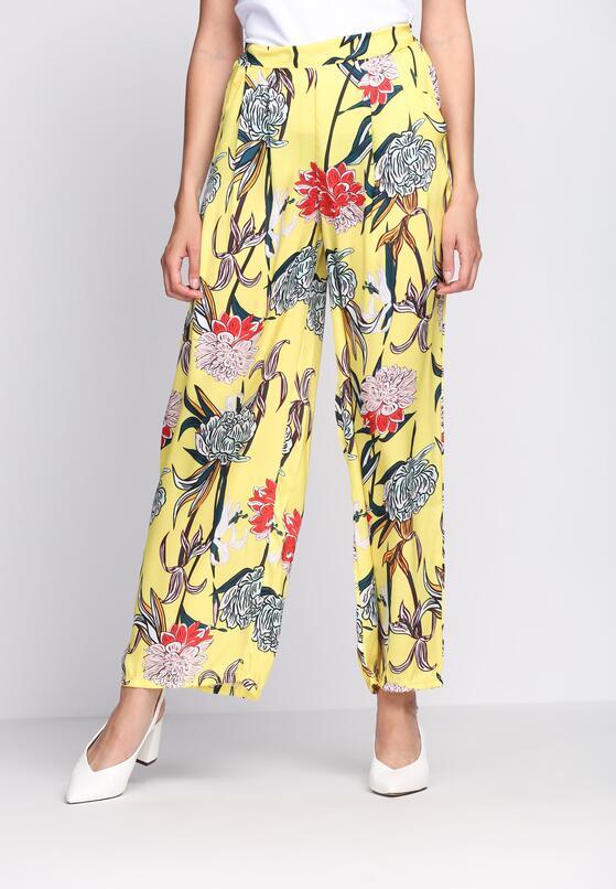 Żółte Spodnie Love Is All