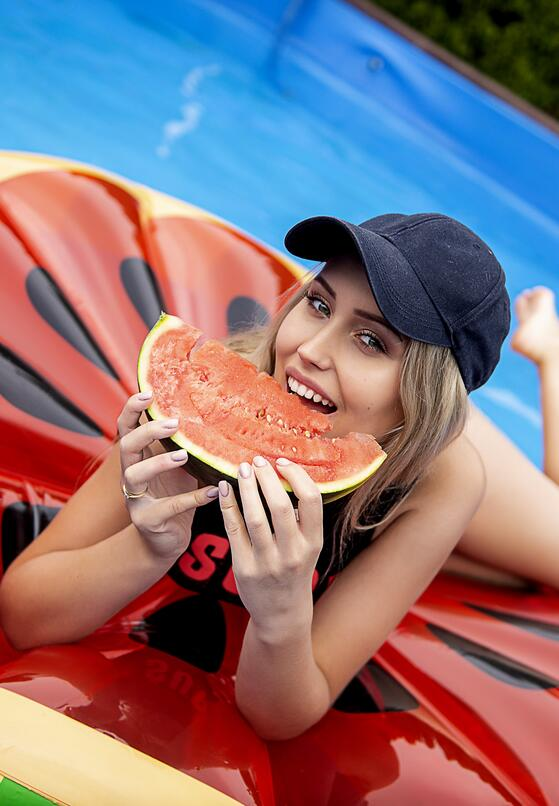 Czerwony Materac Juicy Watermelon