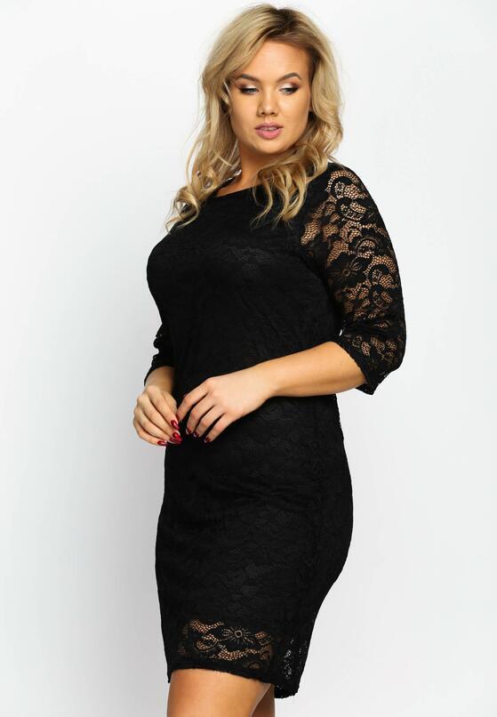 Czarna Sukienka Sensual