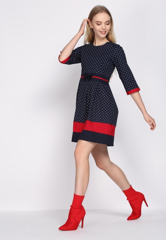 Granatowa Sukienka Add Up