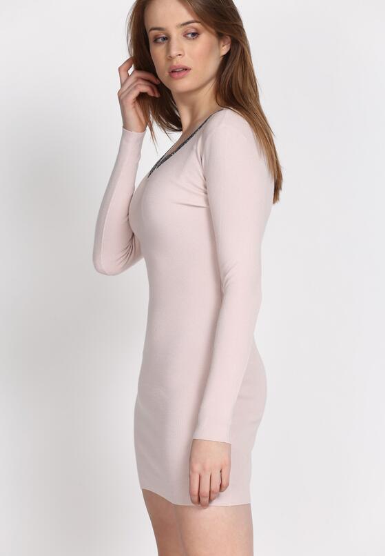 Jasnoróżowa Sukienka By Now