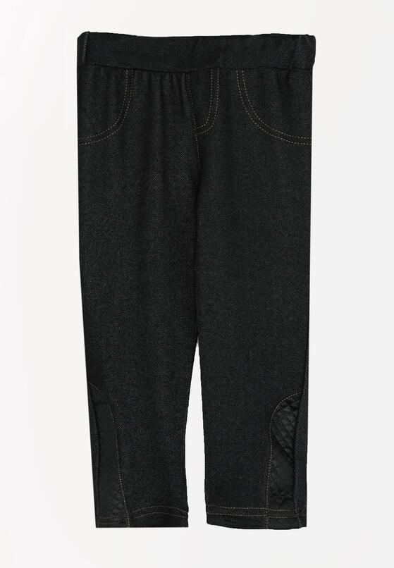 Czarne Spodnie Jungle Fever