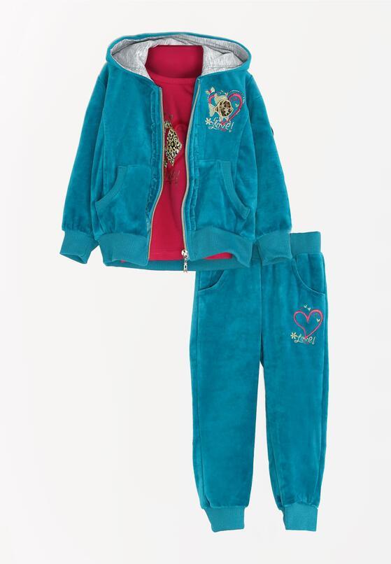 3-Częściowy Niebieski Komplet Dresowy Sweet Talk