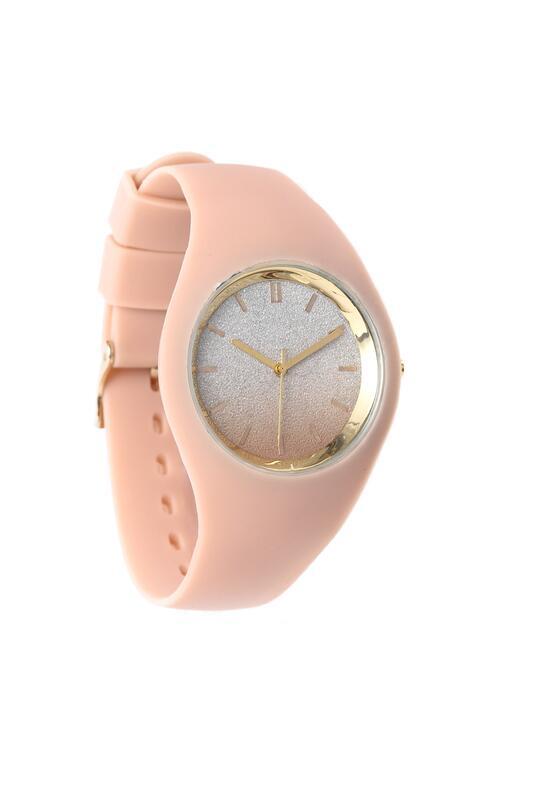 Beżowy Zegarek Another Way