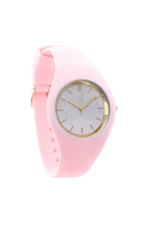 Jasnoróżowy Zegarek Another Way