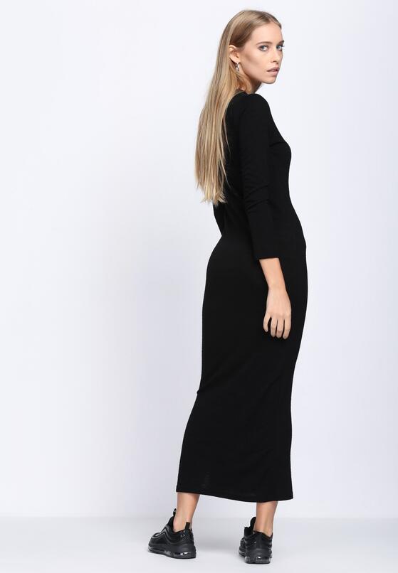 Czarna Sukienka Seven Wishes