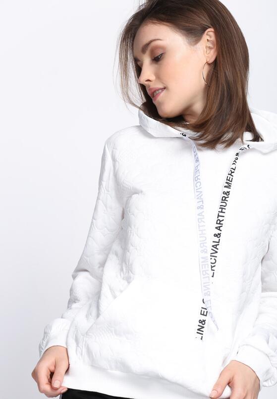 Biała Bluza Inspire Me