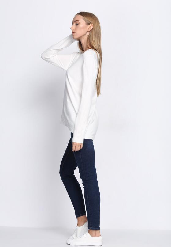 Biały Sweter White Glows