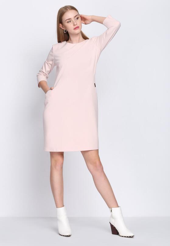Jasnoróżowa Sukienka Nobody's Perfect