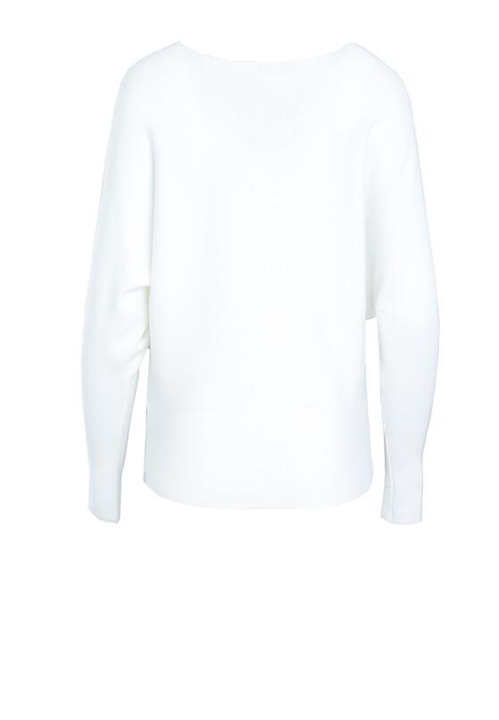 Biały Sweter Next Breath