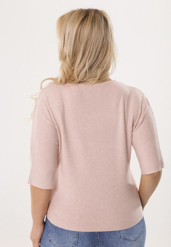 Różowy Sweter So Ashamed