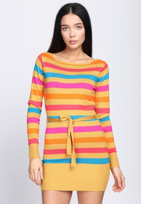 Żółta Sukienka Never See