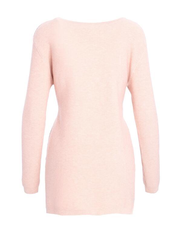 Różowy Sweter Does It Feel