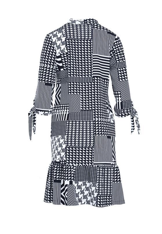 Granatowa Sukienka Engross