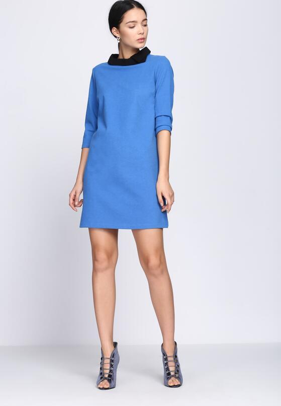 Niebieska Sukienka SomethingTo Believe In