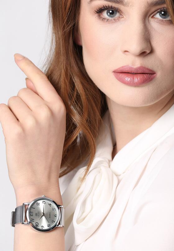 Srebrny Zegarek Turn