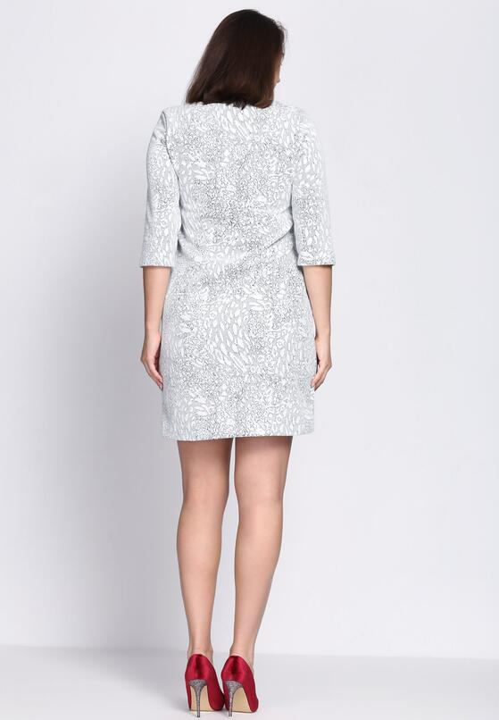 Biała Sukienka Work For