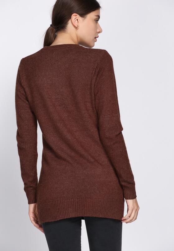 Brązowy Sweter All Round