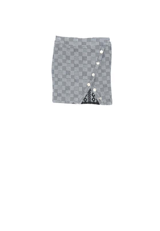 Biało-Czarna Spódnica Dynasty