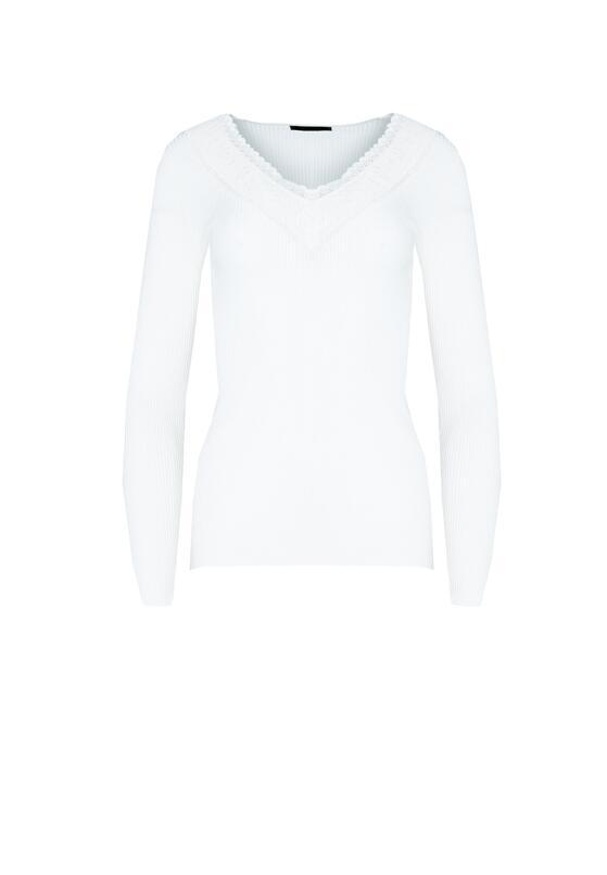 Biały Sweter Cabin