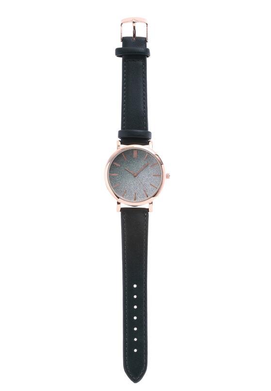 Ciemnozielony Zegarek Alertness
