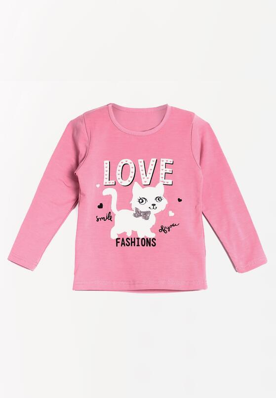 Jasnoróżowa Bluzka Pink Peony