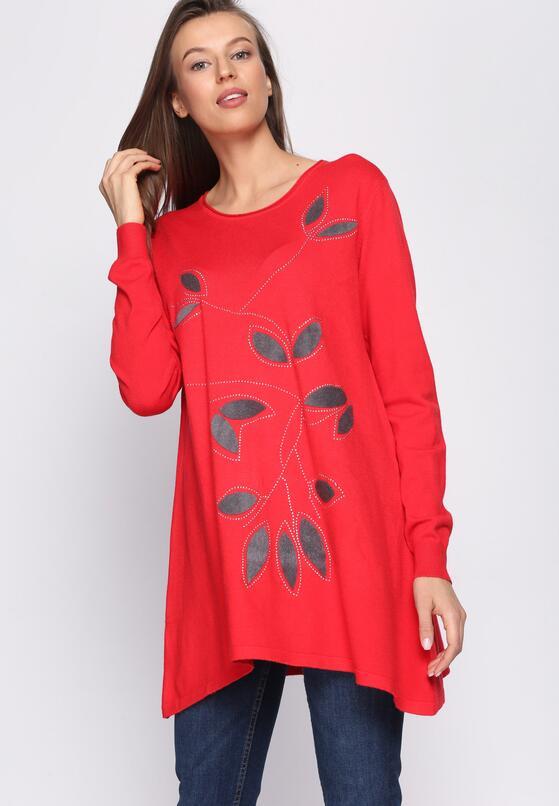 Czerwony Sweter Fidelity