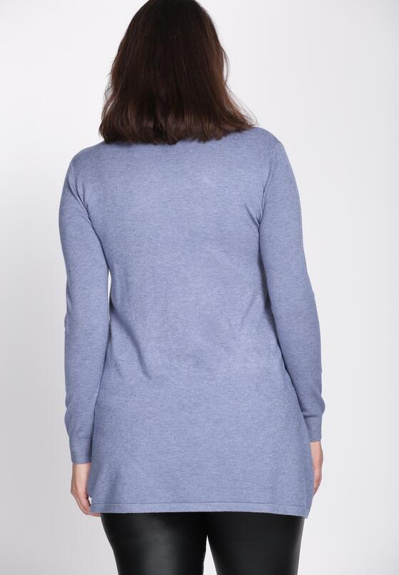 Niebieski Sweter Fidelity