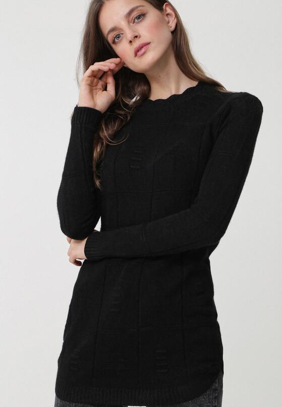 Czarny Sweter Well-Lit