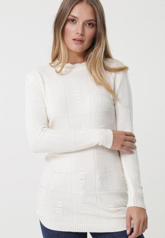 Kremowy Sweter Well-Lit