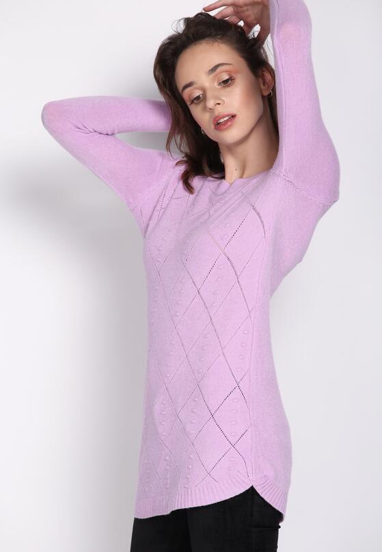 Jasnofioletowy Sweter Here Till Sunday