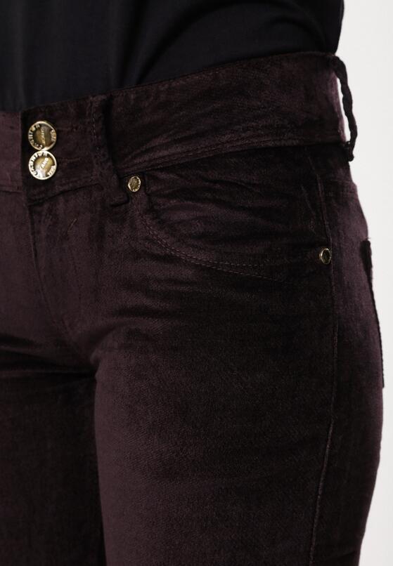 Ciemnobrązowe Spodnie Suffered