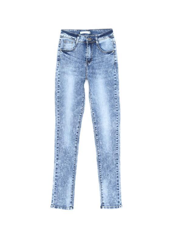 Niebieskie Jeansy All-inclusive