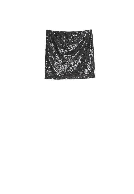 Czarna Spódnica Gladness