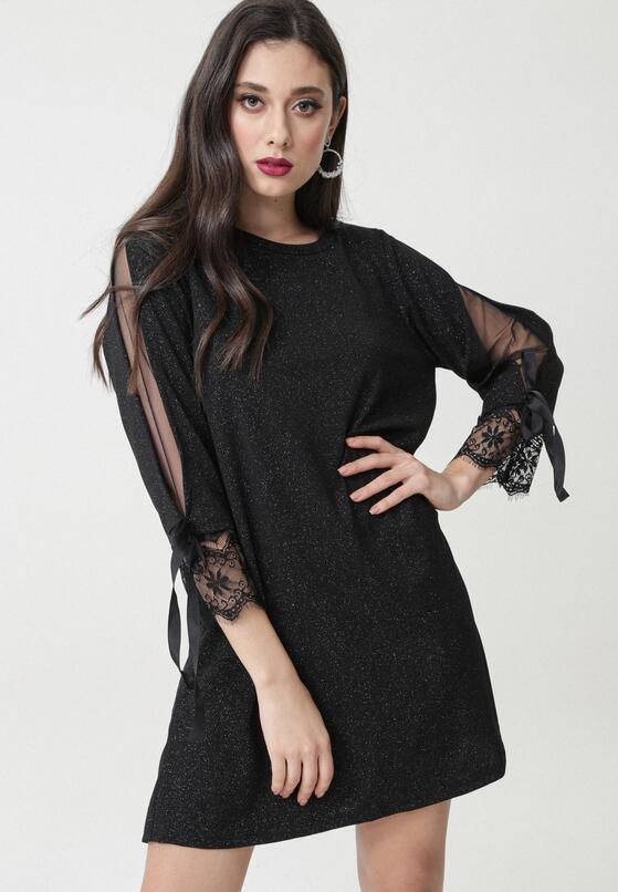 Czarna Sukienka Mania