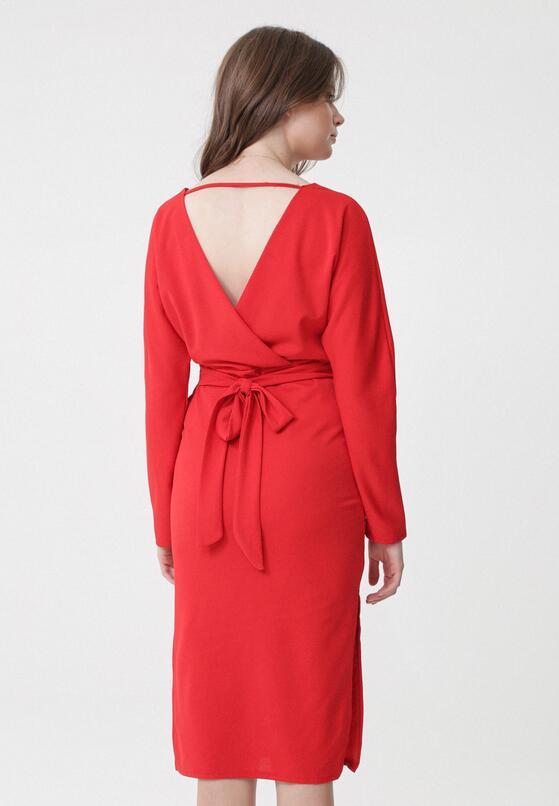 Czerwona Sukienka Clement