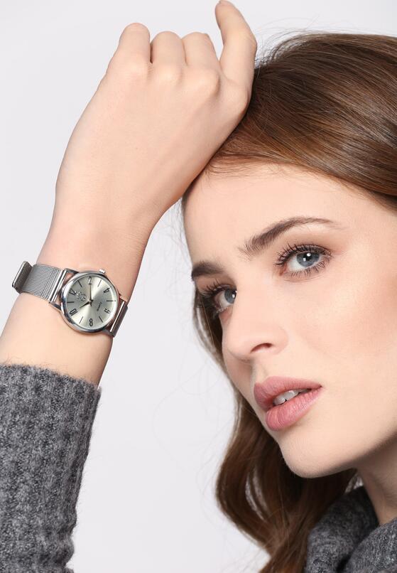 Srebrny Zegarek Assault