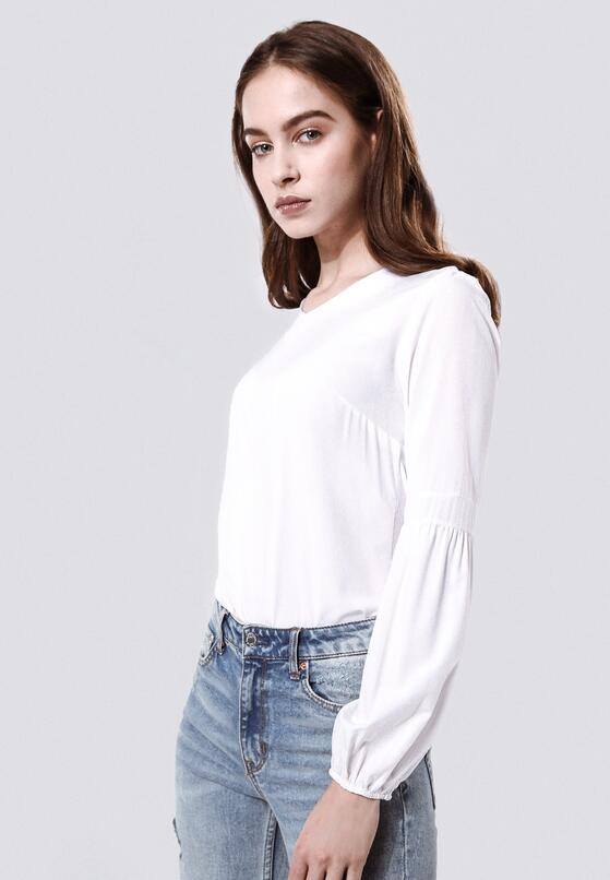 Biała Bluzka Reflect Upon