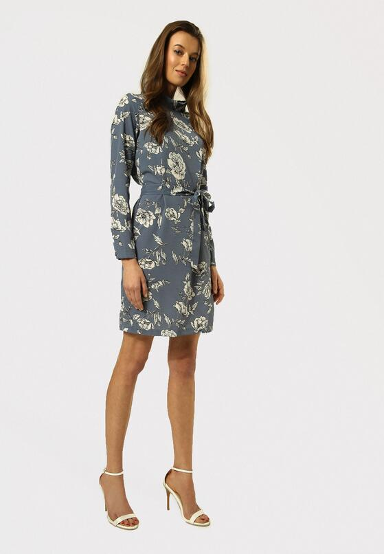 Niebieska Sukienka Quickness
