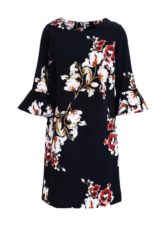 Granatowa Sukienka Coming After