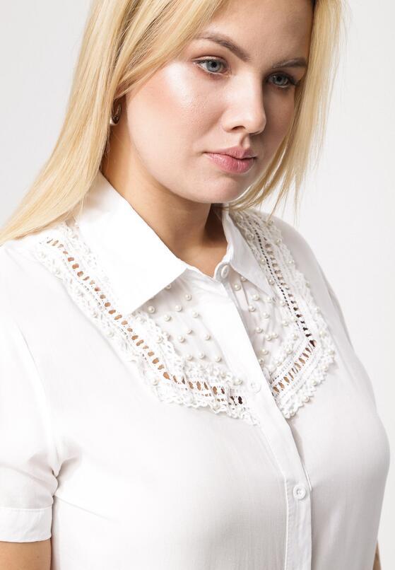 Kremowa Koszula Insinuate
