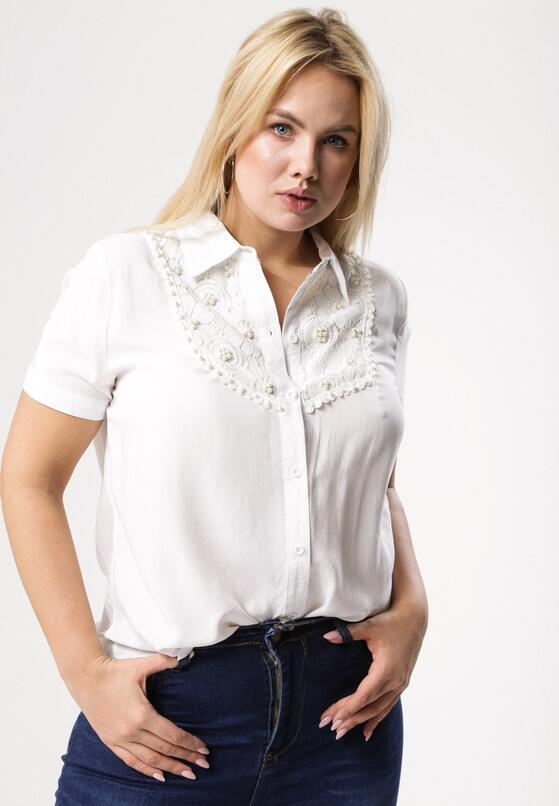 Kremowa Koszula Outpouring