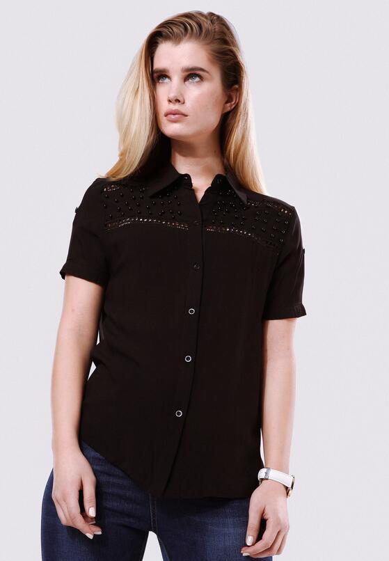 Czarna Koszula Larger