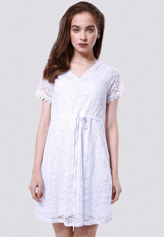 Biała Sukienka Be Suggestive Of