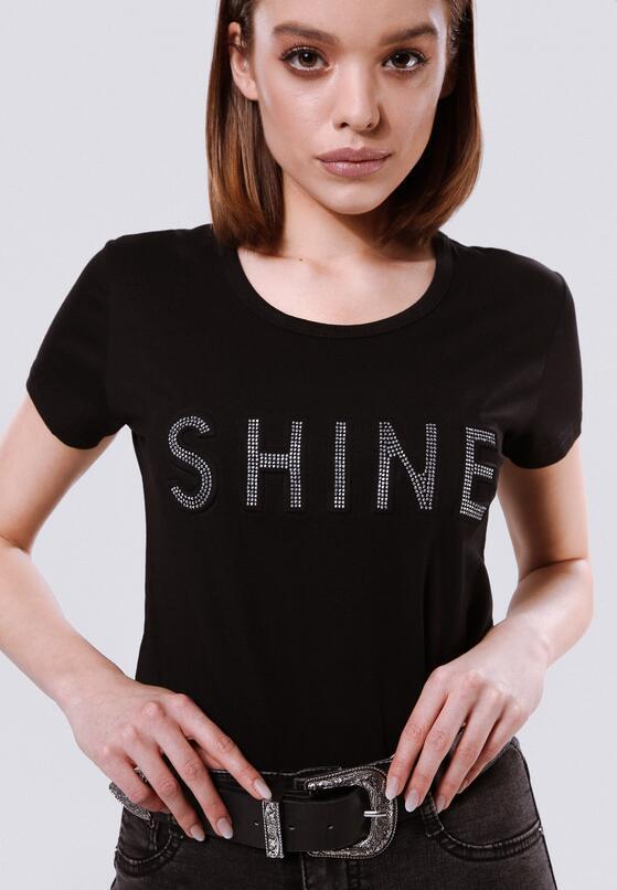 Czarna T-shirt Rich