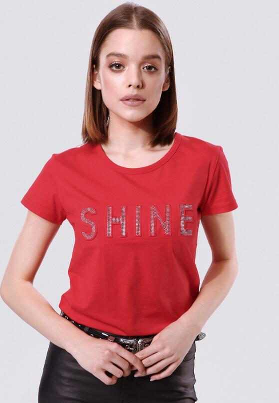 Czerwona T-shirt Rich