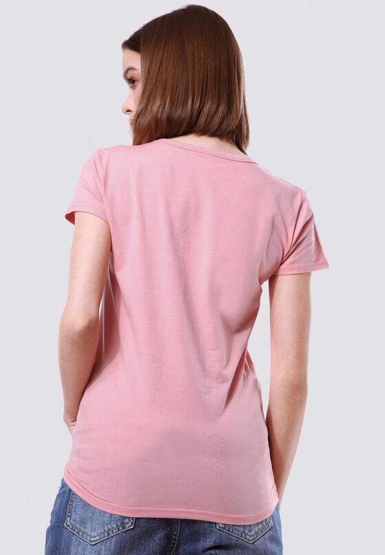 Różowa T-shirt Rich