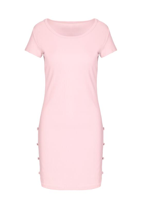 Różowa Sukienka Ligature
