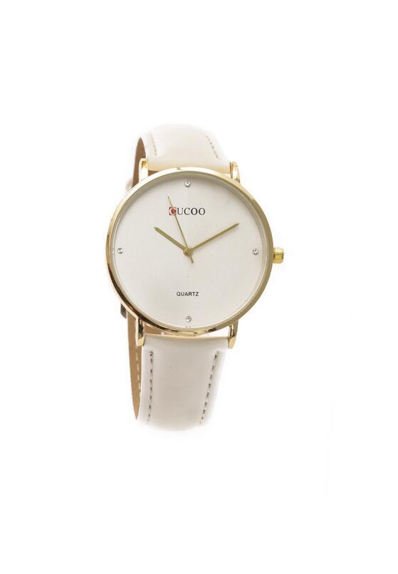 Biały Zegarek More Desirable