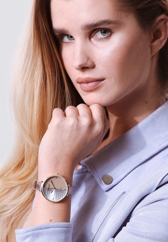 Beżowy Zegarek More Fitting